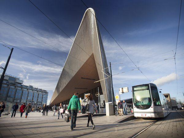 Rotterdam CS tramhalte