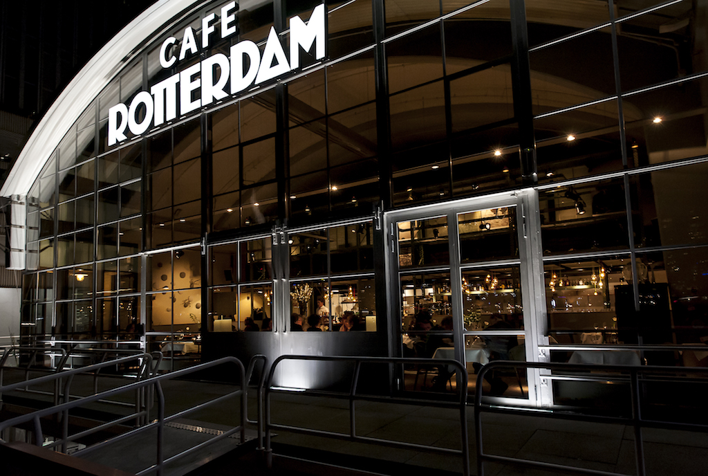 cafe rotterdam restaurant Rotterdam incentive business events