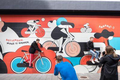 Annabel Street art Rotterdam