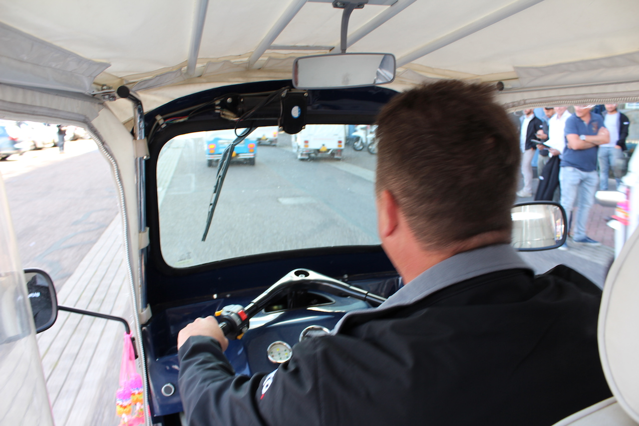 Tuk Tuk Game Challenge Rotterdam City
