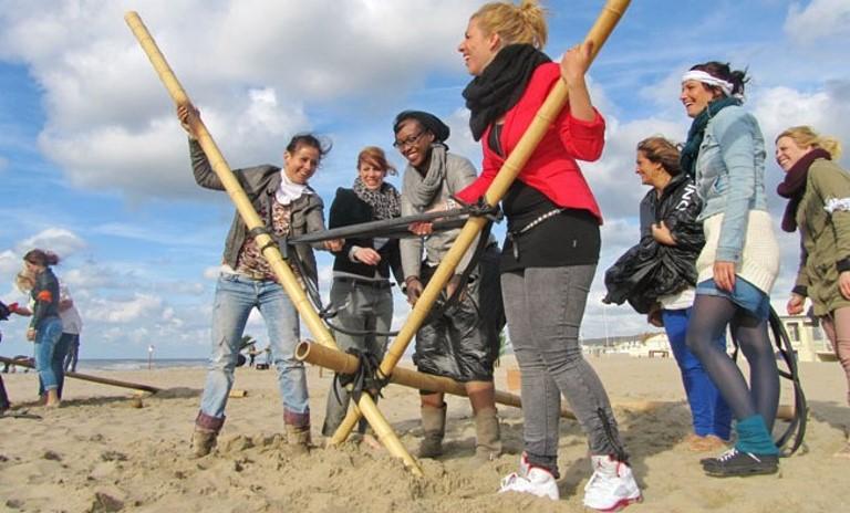 Rotterdam Beach Game Robinson