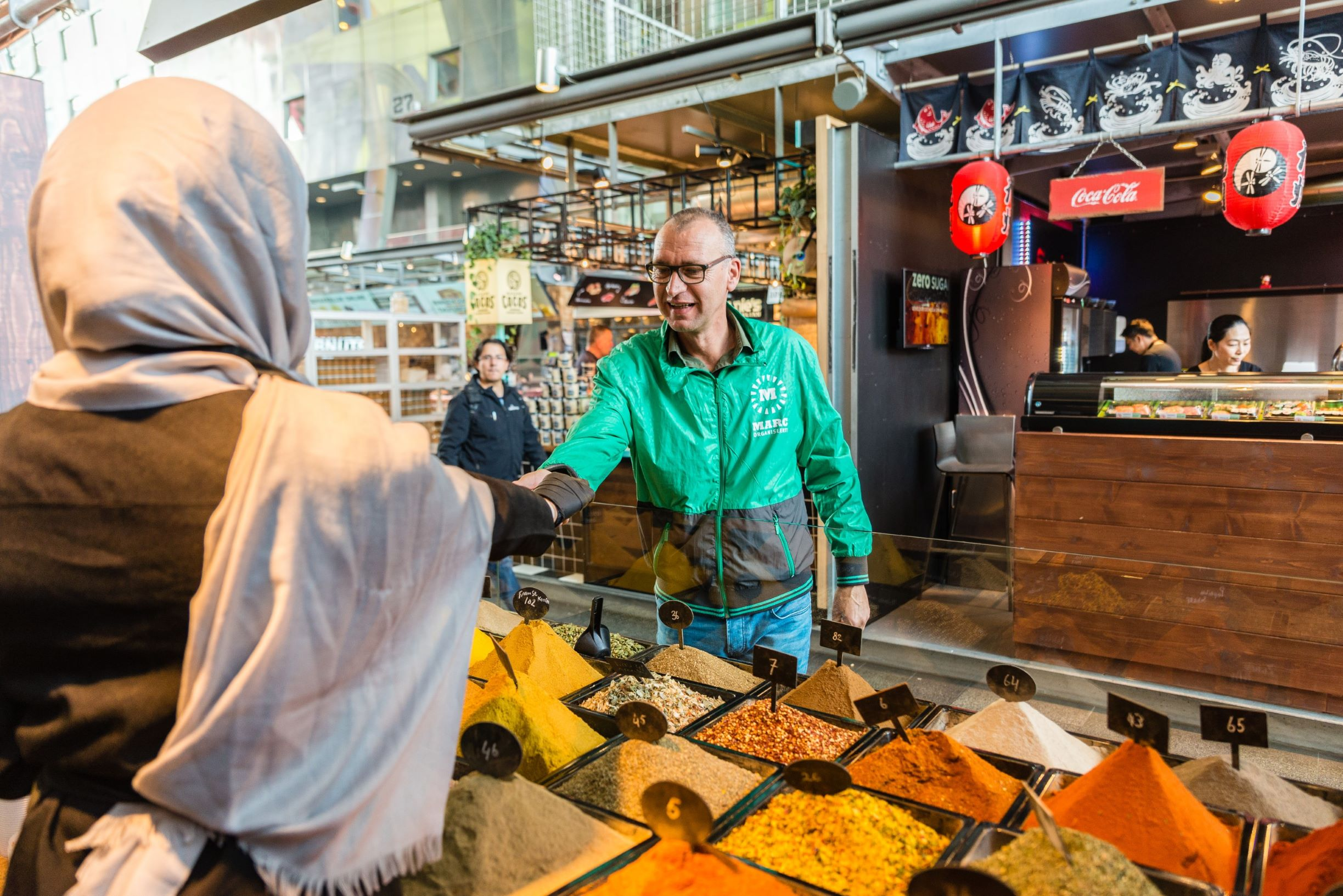 Rotterdam Tour Food Market Hal Blaak Herbs Spices City